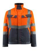 15909-948-14010 Jakke - hi-vis oransje/mørk marine