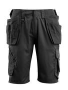 16049-230-09 Shorts med hengelommer - svart