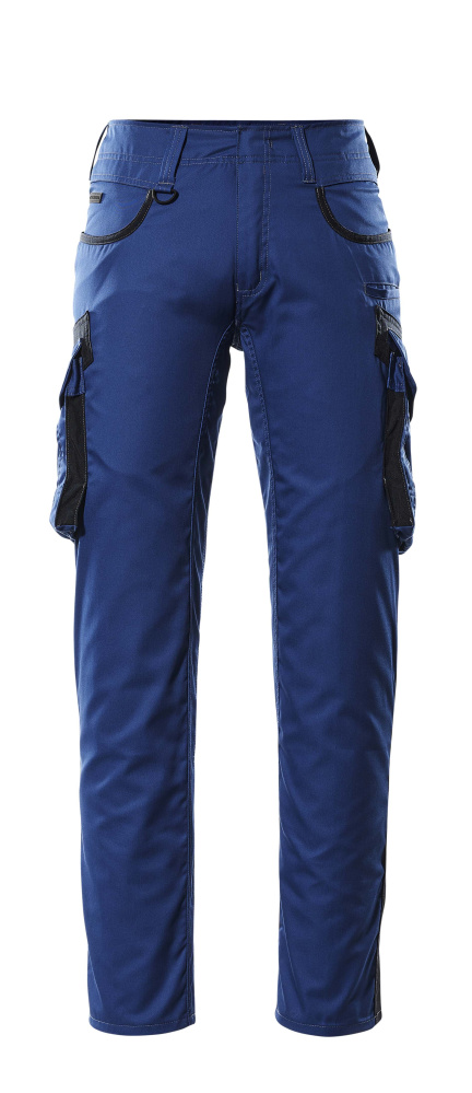 16279-230-11010 Bukser med lårlommer - kobolt/mørk marine