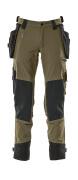 17031-311-010 Bukser med hengelommer - mørk marine