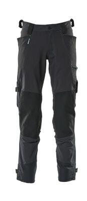 17079-311-010 Bukser med knelommer - mørk marine