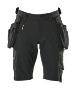 17149-311-09 Shorts med hengelommer - svart