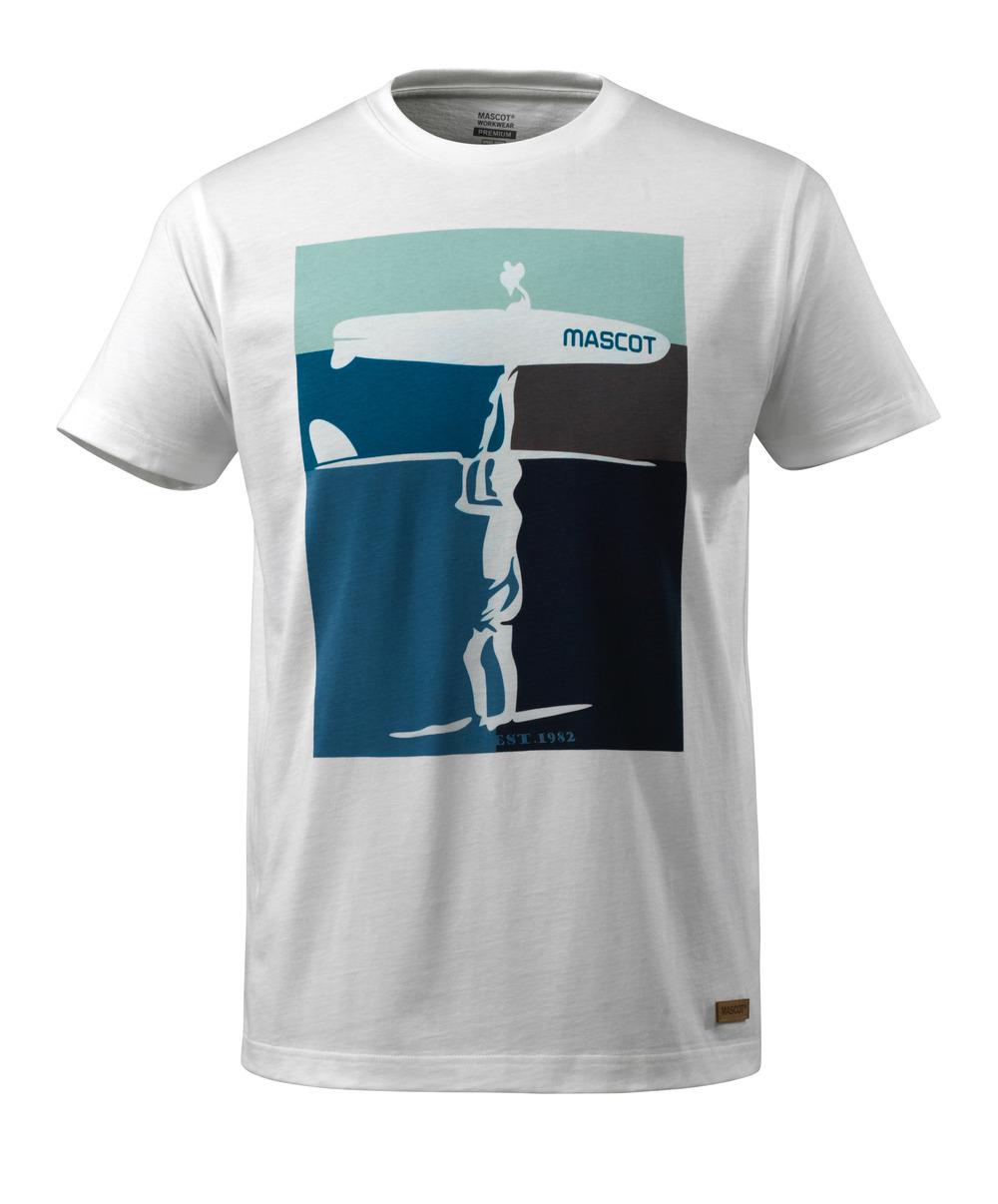 17182-250-06 T-skjorte - hvit