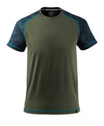 17482-944-33 T-skjorte - mosegrønn