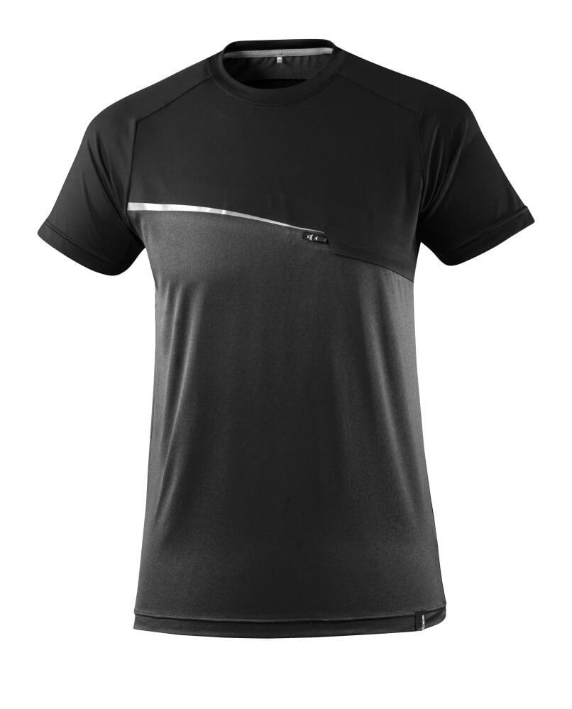 17782-945-09 T-skjorte - svart
