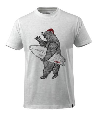 17982-983-06 T-skjorte - hvit