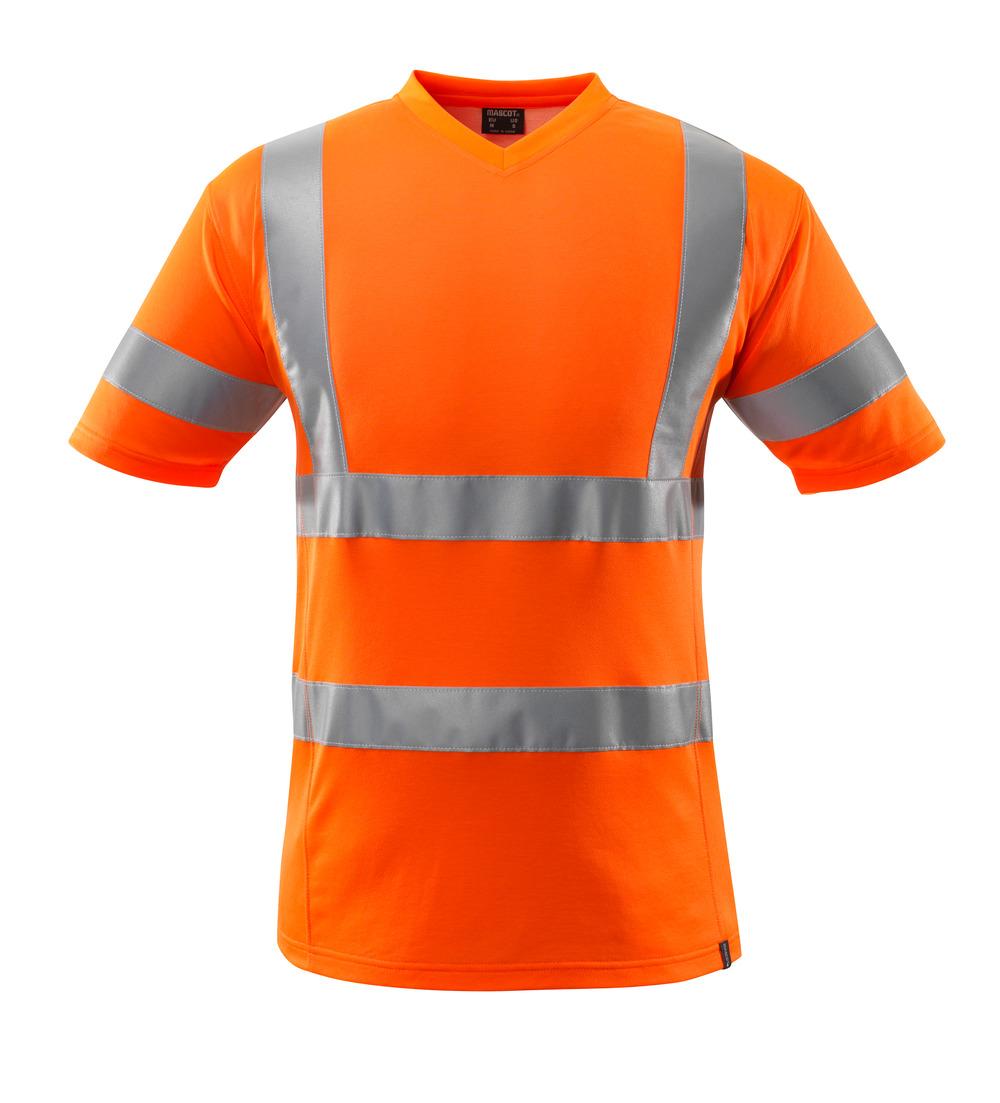 18282-995-14 T-skjorte - hi-vis oransje