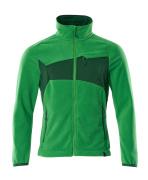 18303-137-33303 Fleecejakke - gressgrønn/grønn