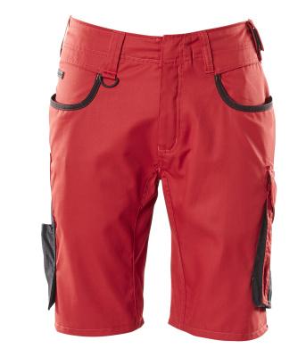 18349-230-0209 Shorts - rød/svart