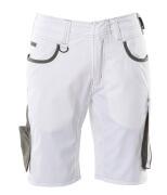 18349-230-0618 Shorts - hvit/mørk antrasitt