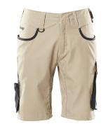 18349-230-5509 Shorts - lys kaki/svart