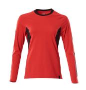18391-959-01091 T-skjorte, langermet - mørk marine/azurblå