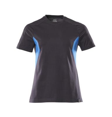 18392-959-01091 T-skjorte - mørk marine/azurblå
