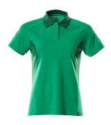 18393-961-33303 Pikéskjorte - gressgrønn/grønn