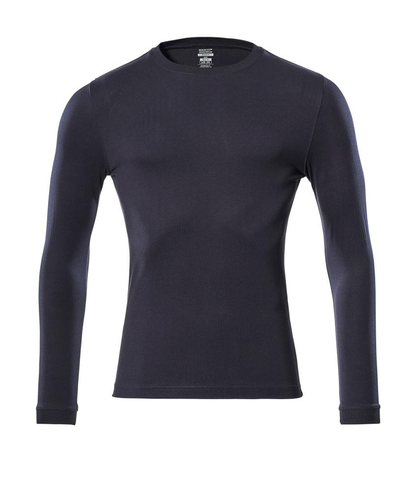 18581-965-010 T-skjorte, langermet - mørk marine