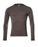 18581-965-18 T-skjorte, langermet - mørk antrasitt