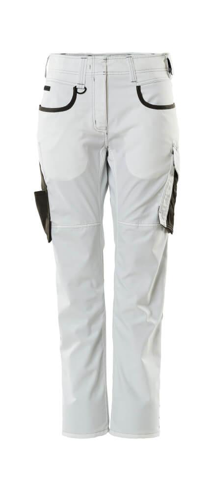 18678-230-0618 Bukse - hvit/mørk antrasitt