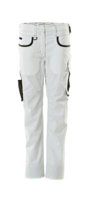 18688-230-0618 Bukse - hvit/mørk antrasitt