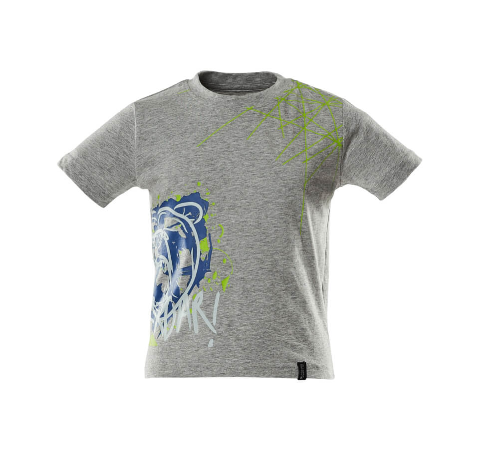18982-965-08 T-skjorter til barn - grå melert