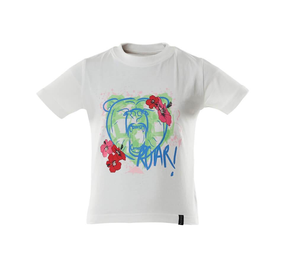 18992-965-06 T-skjorter til barn - hvit