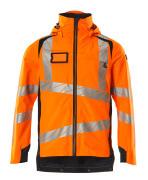 19001-449-14010 Skalljakke - hi-vis oransje/mørk marine