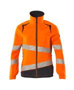 19008-511-14010 Jakke - hi-vis oransje/mørk marine