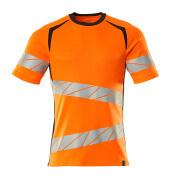 19082-771-14010 T-skjorte - hi-vis oransje/mørk marine