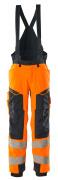 19090-449-14010 Vinterbukse - hi-vis oransje/mørk marine