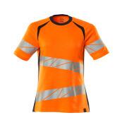 19092-771-14010 T-skjorte - hi-vis oransje/mørk marine