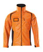 19202-291-14010 Softshelljakke - hi-vis oransje/mørk marine