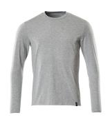 20181-959-08 T-skjorte, langermet - grå melert