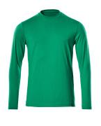 20181-959-18 T-skjorte, langermet - mørk antrasitt