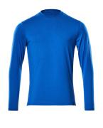 20181-959-91 T-skjorte, langermet - azurblå