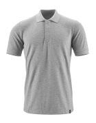 20183-961-08 Pikéskjorte - grå melert