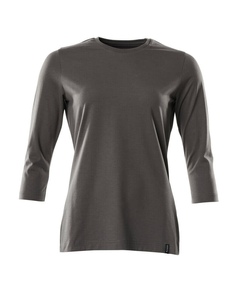 20191-959-18 T-skjorte - mørk antrasitt