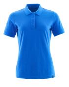20193-961-91 Pikéskjorte - azurblå
