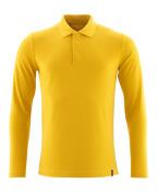 20483-961-70 Pikéskjorte, langermet - Karrigul