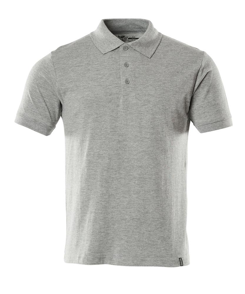 20583-797-08 Pikéskjorte - grå melert