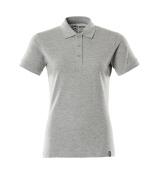 20693-787-08 Pikéskjorte - grå melert