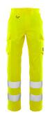 20859-236-17 Bukser med lårlommer - hi-vis gul