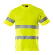 20882-995-17 T-skjorte - hi-vis gul