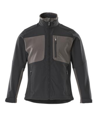 50057-824-0918 Softshelljakke - svart/mørk antrasitt