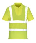 50105-853-17 Pikéskjorte - hi-vis gul