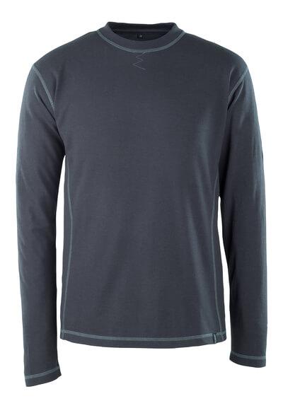 50119-927-010 T-skjorte, langermet - mørk marine