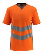 50127-933-1418 T-skjorte - hi-vis oransje/mørk antrasitt