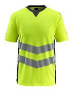 50127-933-1709 T-skjorte - hi-vis gul/svart