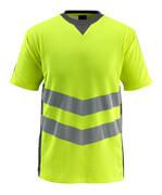 50127-933-1718 T-skjorte - hi-vis gul/mørk antrasitt