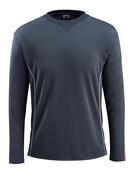 50128-933-0917 T-skjorte, langermet - svart/hi-vis gul