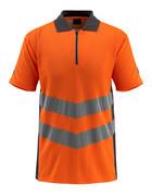 50130-933-1418 Pikéskjorte - hi-vis oransje/mørk antrasitt