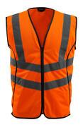 50145-977-14 Trafikkvest - hi-vis oransje